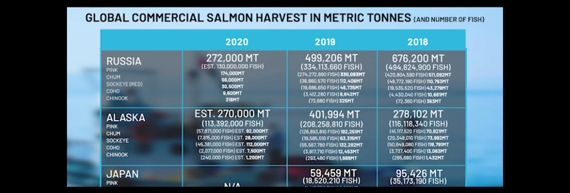 Global Salmon Harvest