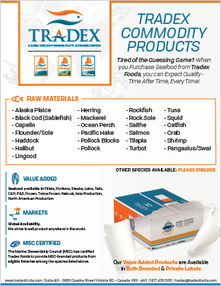Tradex Foods Commodity Products