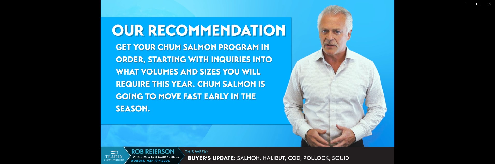 Chum Salmon Recommendation