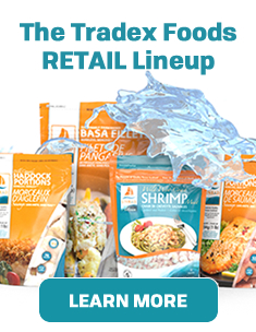 Tradex Foods Retail Line-up