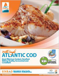 SINBAD Atlantic Cod