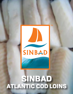 SINBAD Atlantic Cod Loins