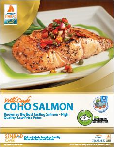 SINBAD Gold Coho Salmon