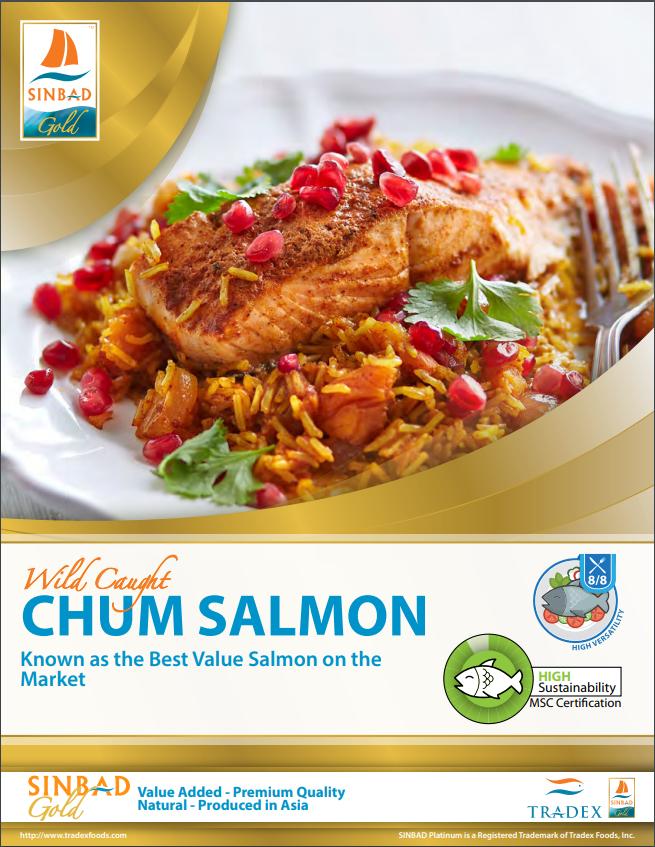 SINBAD Gold Chum Salmon