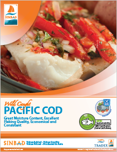 SINBAD Platinum Pacific Cod