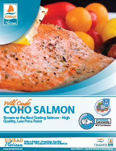 SINBAD Platinum Coho Salmon