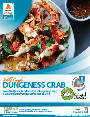 SINBAD Platinum Dungeness Crab