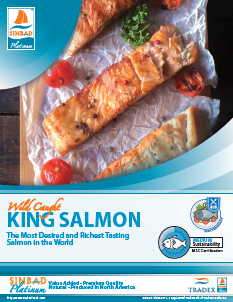 SINBAD Platinum King Salmon