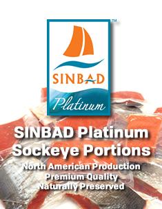 SINBAD Sockeye Portions