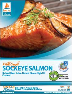 SINBAD Platinum Sockeye Salmon
