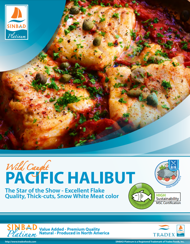 SINBAD Platinum Halibut