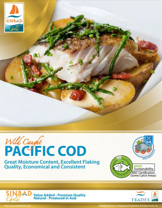 SINBAD Gold Pacific Cod