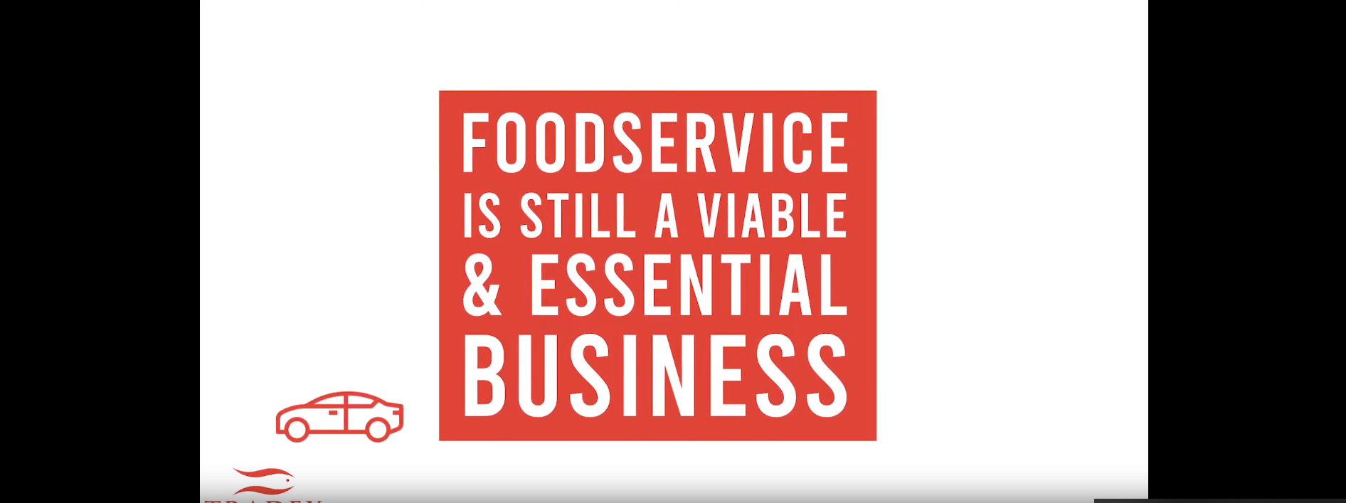 Foodservice is still a viable & essential industry