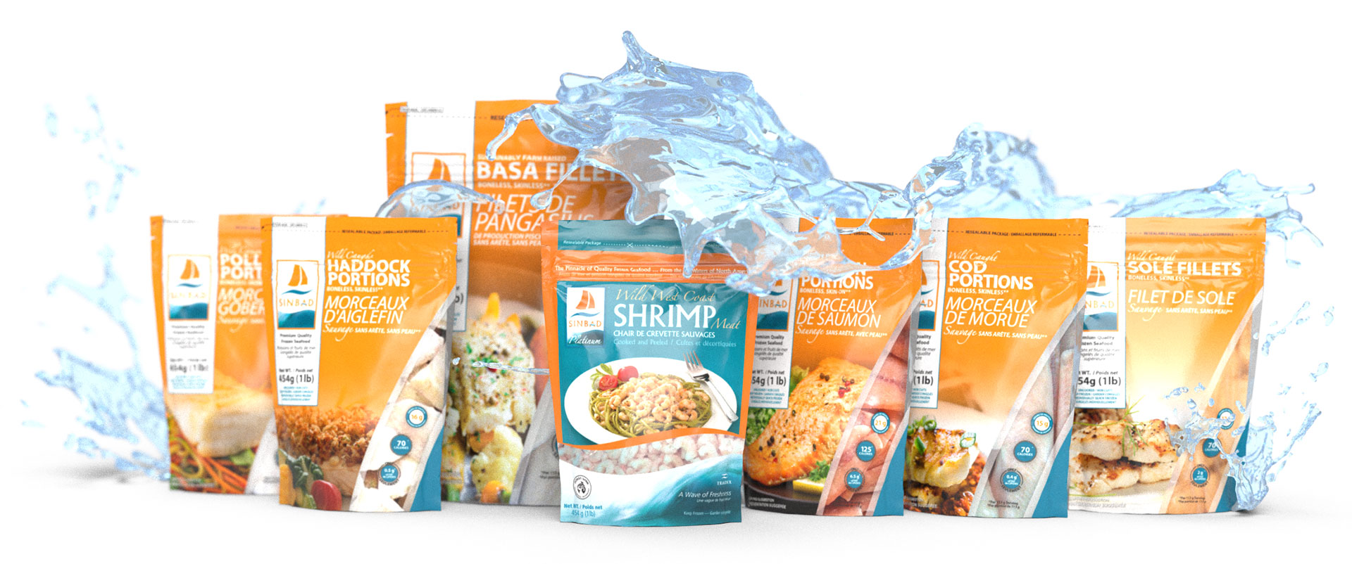Tradex Foods Retail Lineup