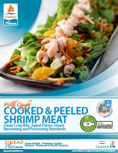 SINBAD Platinum Cooked & Peeled Shrimp